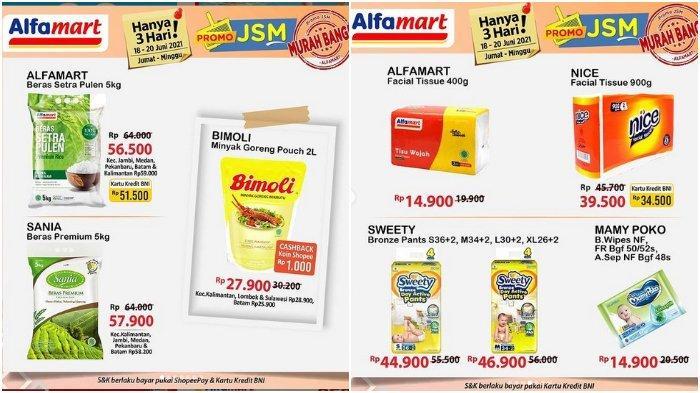 Promo JSM Alfamart Periode 18-20 Juni 2021: Bimoli Minyak Goreng Pouch 2L Rp 27.900
