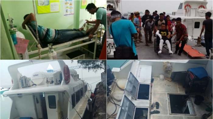 Kronologi Meledaknya Mesin Kapal Milik Dishub di Kepulauan Seribu