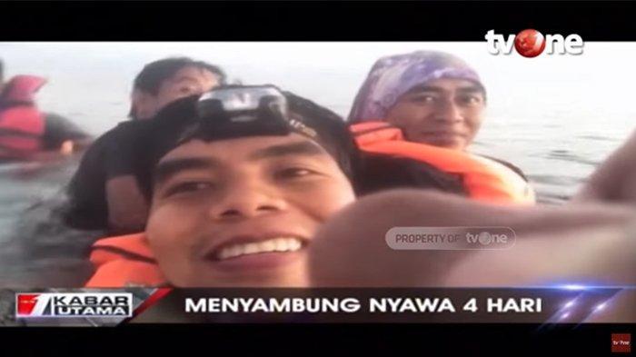 Perjuangan 12 Pemancing Bertahan Hidup di Tengah Laut