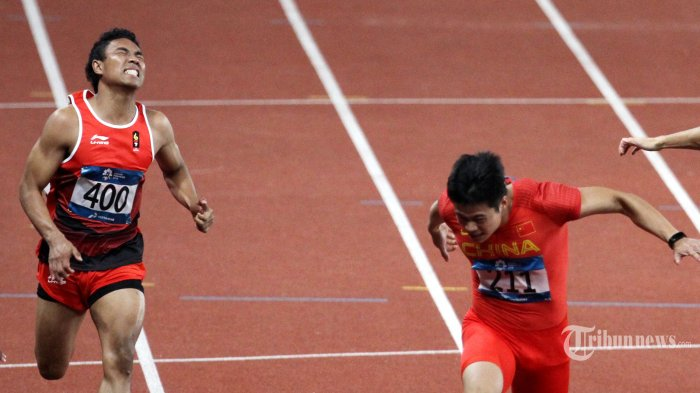 Lalu Zohri gagal Tampil Maksimal di Test Event Olimpiade, Begini kata Pelatih Eni Nuraini