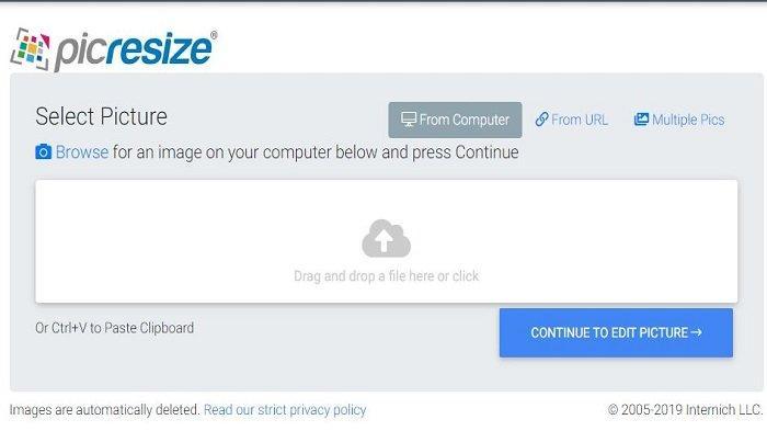 Cara Mudah Mengecilkan Ukuran Foto Jadi 200kb Secara Online Via Imgonline Hingga Picresize Tribunnews Com Mobile