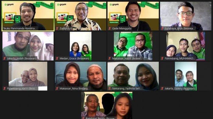 Perkuat Dampak Sosial Bagi Keluarga Mitra, Gojek Berikan Beasiswa.