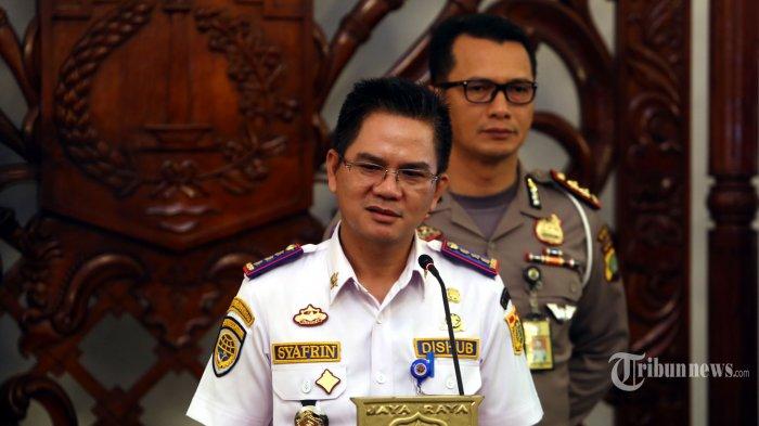 Kepala Dinas Perhubungan DKI Jakarta Syafrin Liputo menjelaskan terkait operasional dan pembatasan penumpang bagi angkutan umum dengan trayek tetap.
