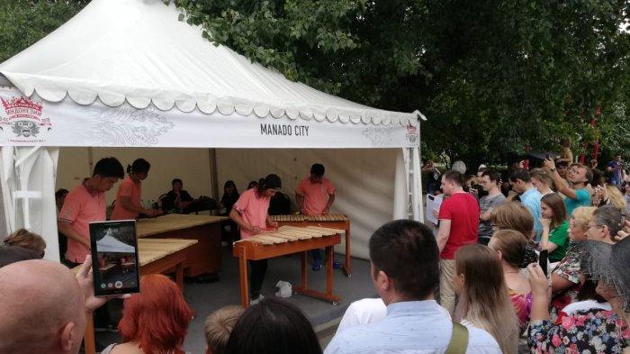 Lebih dari 135 Ribu Warga Rusia Kunjungi Festival Indonesia di Moskow