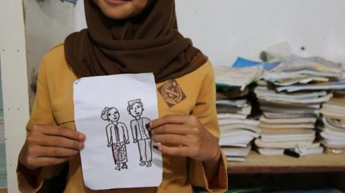 Tak Bisa Ikut Sekolah Daring Karena Miskin, Siswi SMP di Lombok Ini Pilih Menikah