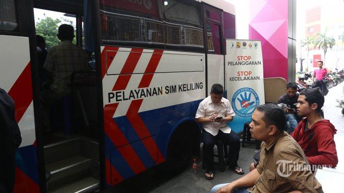 Daftar Lokasi Mangkalnya Mobil SIM Keliling di Jakarta Sabtu Ini