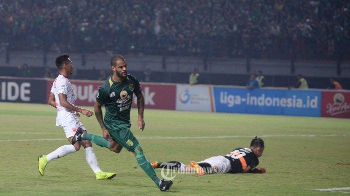 Hasil Liga 1 2019, David da Silva Gemilang, Persebaya Hentikan Rekor Tak Terkalahkan Bhayangkara FC