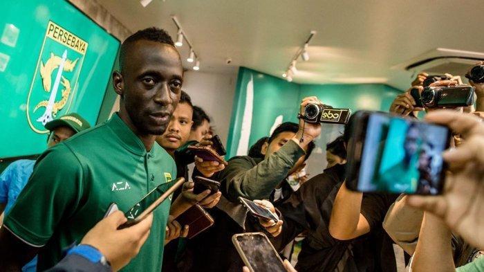 2 Target Makan Konate Bersama Persebaya Surabaya di Liga 1 2020, Singgung Peluang Juara dan Top Skor