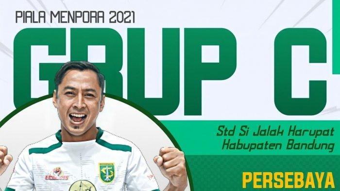 Persebaya Surabaya tergabung di grup C turnamen pramusim Piala Menpora 2021