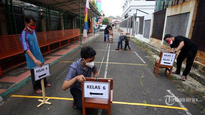 DAFTAR Wilayah PPKM Level 3 di Jawa-Bali serta Aturannya untuk Sekolah, Pasar, hingga Tempat Makan