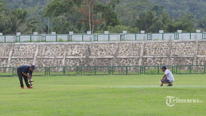 Berita Foto : Melihat Persiapan Venue Cricket Dan Hockey PON XX Papua - persiapan-venue-cricket-di-pon-xx-papua_20210924_185452.jpg
