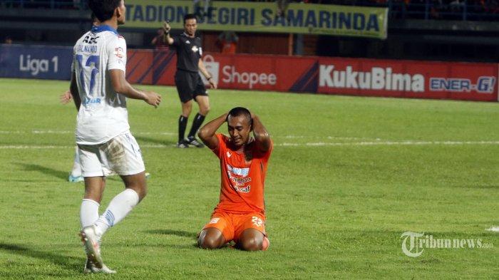 Gelandang Borneo FC Sultan Samma Obati Kerinduan Lewat Cuplikan Pertandingan