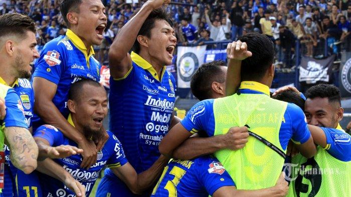 Kembali Terbuka, Peluang Persib Jadi Runner Up Liga 1 2019 dan Tampil di Level Asia