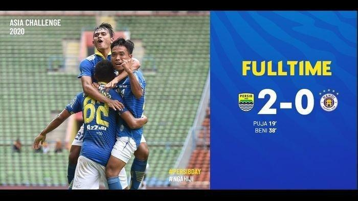 Striker Persib Bandung, Beni Oktoianto Tetap Rendah Hati Meski Bermain Gemilang saat Hadapi Hanoi FC
