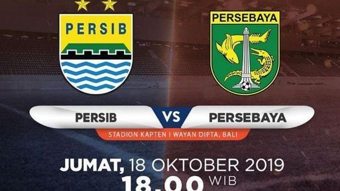 SEDANG BERLANGSUNG, Link Live Streaming Persib Bandung vs Persebaya Surabaya Liga 1 2019