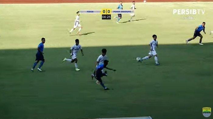 Persib Bandung vs Porda Kota Bandung, Sabtu (5/6/2021).
