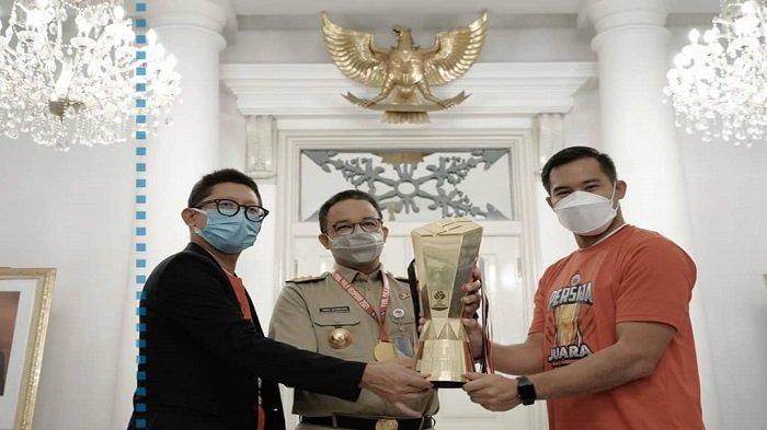 Persija Jakarta Temui Anies Baswedan, Macan Kemayoran Bawa Buah Tangan Terindah