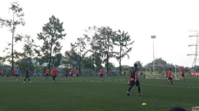Persija Jakarta Gelar Simulasi Pertandingan: Dua Tim Saling Balas Gol