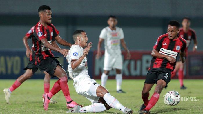 Hasil BRI Liga 1 2021: Persipura vs Persija Imbang Tanpa Gol, Mutiara Hitam Jadi Juru Kunci
