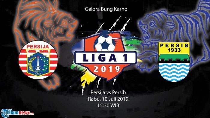 Link Live Score Hasil Pertandingan Persija Jakarta vs Persib Bandung, Pantau Lewat HP