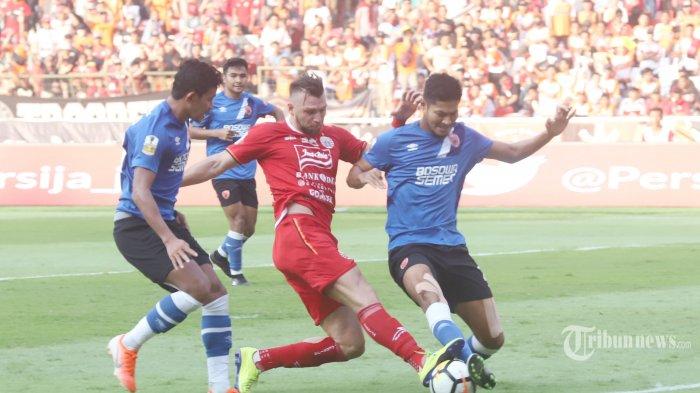 LIVE STREAMING Final Leg Kedua Persija Jakarta vs PSM Makassar, Tonton Lewat HP Ini Linknya