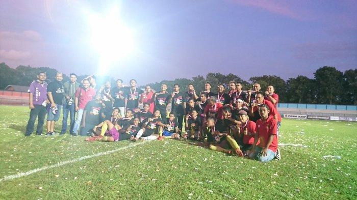 Persik Kediri Juara Liga 3 2018 Meski Kalah 0-1 dari PSCS Cilacap pada Leg 2
