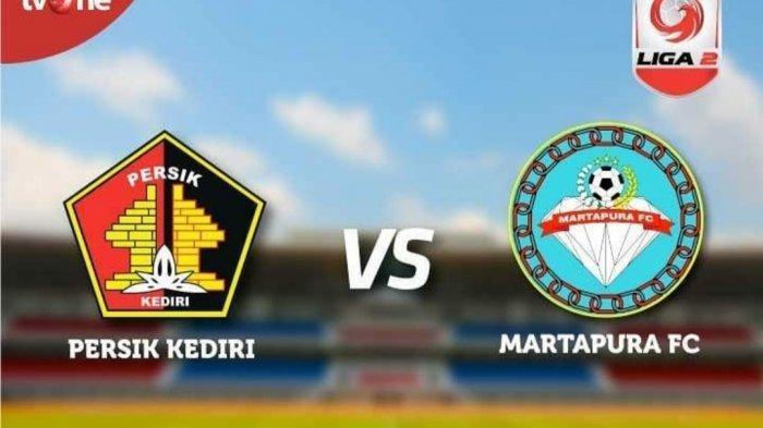Hasil Persik Kediri vs Martapura FC: Kebobolan Duluan, Skuat Macan Putih Raih Hasil Imbang