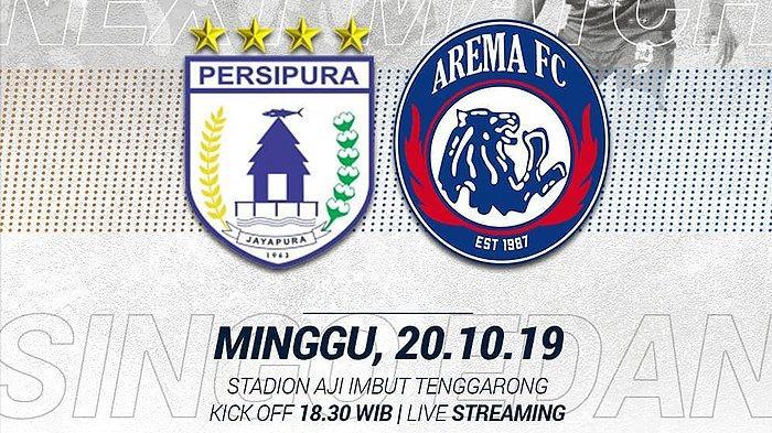 Persipura Vs Arema FC: Singo Edan Tanpa Beban Seusai Digasak 2-6 PSM Makassar