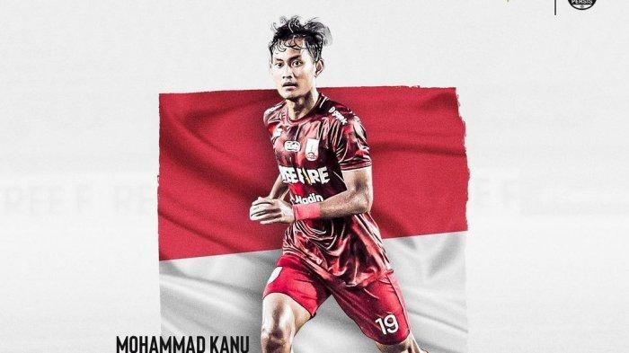Persis Solo menginformasikan bahwa Mohammad Kanu Helmiawan akan gabung TC Timnas Indonesia U-19