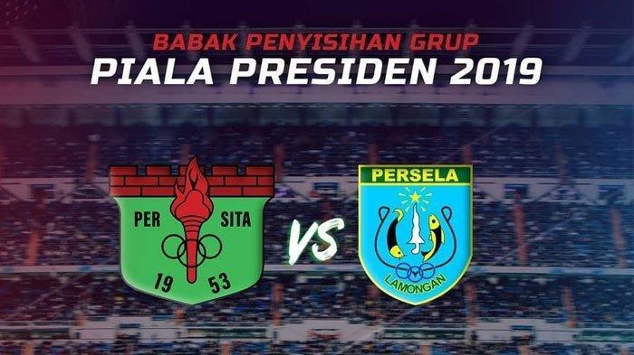 Link Live Streaming Persita Tangerang vs Persela Piala Presiden Senin Jam 15.30 WIB di Indosiar