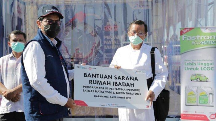 Sambil Berbagi, Pertamina Pastikan Kesiapan Fasilitas BBM di Jalur Tol dan Wisata