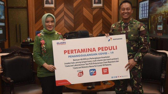 Pertamina Bantu 48.000 Paket APD untuk Tenaga Medis TNI AD