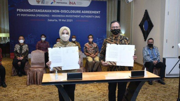 Pertamina danIndonesia Investment Authority Jajaki Kolaborasi Investasi Sektor Energi