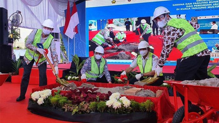 Sinergi Pertamina dan Pelindo 1 Penuhi Energi untuk Industri di Kuala Tanjung