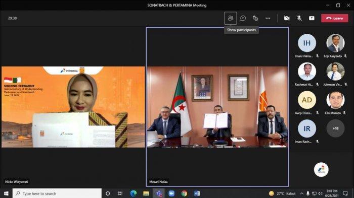 Perkuat Bisnis di Lingkup Global, Pertamina Kolaborasi Strategis dengan Sonatrach
