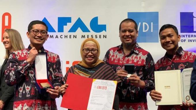 Tim Pertamina Internasional EP Raih Penghargaan Inovasi di Jerman