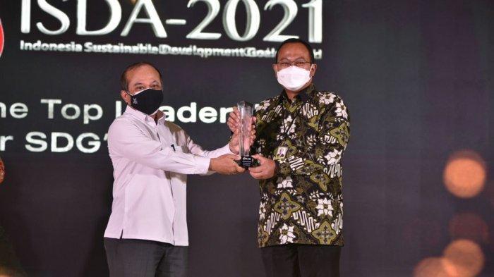 Pertamina Dinobatkan Jadi Perusahaan Paling Berkomitmen Jalankan Program SDGs dalam Ajang ISDA 2021