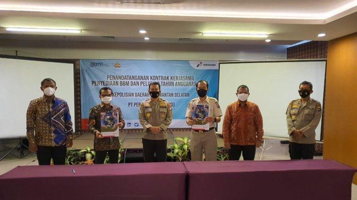 Pertamina Kerja Sama dengan Polda Kalimantan Selatan Menghadapi Tahun 2021
