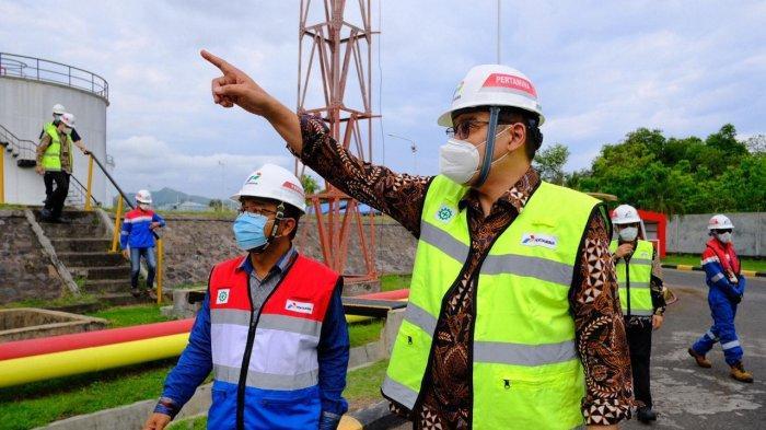 Pastikan Sarana Distribusi Energi Beroperasi Optimal, Direksi Pertamina Tinjau Lapangan