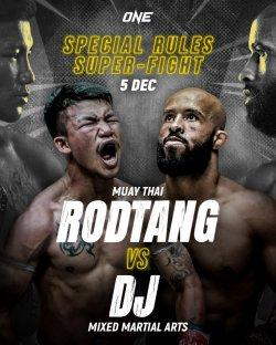 Pertarungan Hybrid  MMA vs Muay Thai di Perayaan One Championship Ke-10