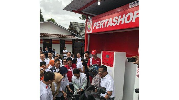 Permudah Akses Produk Pertamina, 4 Unit Pertashop Masuk ke Pelosok Desa Sukabumi