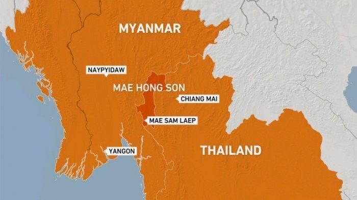 Pertempuran Meletus di Myanmar Timur Dekat Perbatasan Thailand