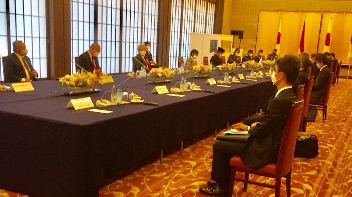 Pembukaan Pertemuan 2+2 Menlu dan Menhan Jepang dan Indonesia