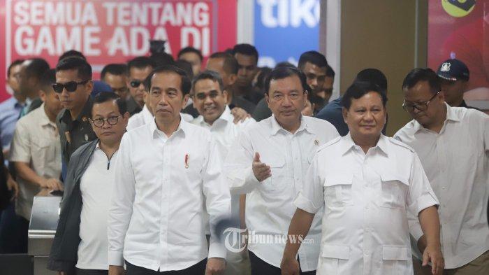 Prabowo dan Jokowi Bertemu, Gerindra: Momentum Kedua Pendukung untuk Berdamai