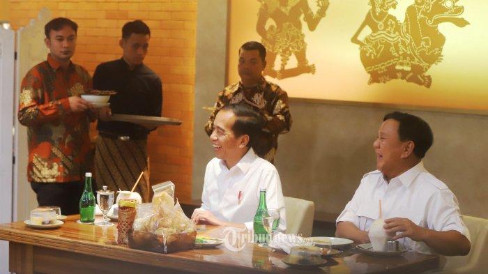 Pertemuan Jokowi dan Prabowo di MRT Bukan Mendadak