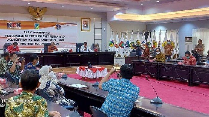 KPK Dorong Penyelamatan Aset Pemda di Sulawesi Tengah Senilai Rp 3,2 Triliun