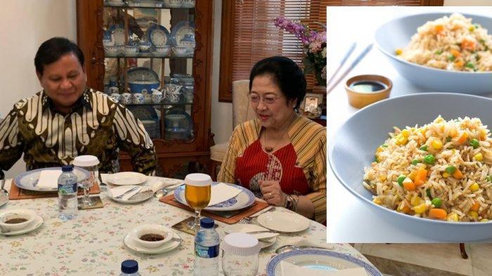 Pertemuan Prabowo dan Megawati Rabu 24 Juli 2019 dengan menu nasi goreng