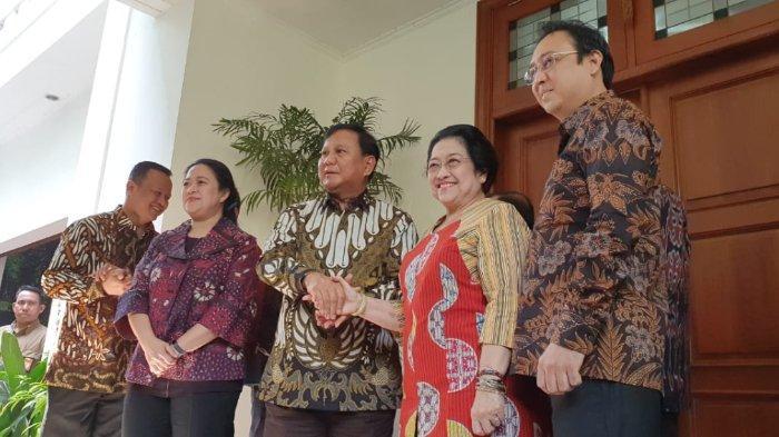 Pertemuan Prabowo dengan Megawati Hari Ini Rabu (24/7/2019)