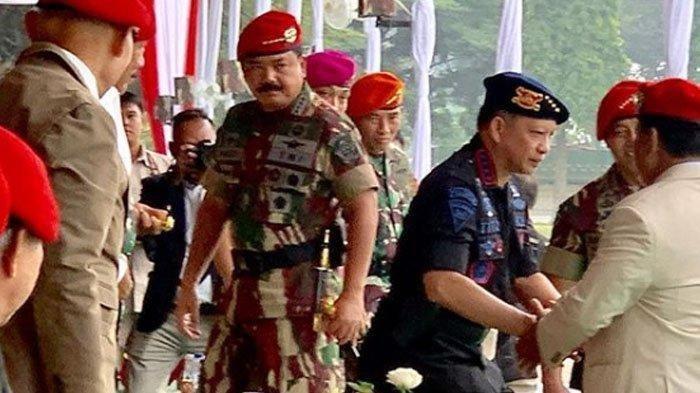Beredar Foto Prabowo Bertemu Panglima TNI & Kapolri, Purnawirawan TNI: Calon Panglima Tertinggi TNI