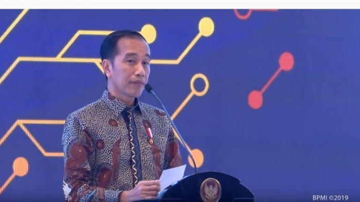 Jokowi dalam Pertemuan  Tahunan Bank Indonesia